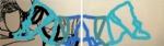 """Titel: """"Liegendes Paar"""" / Größe: Diptychon - 2 x (160 x 90) cm / Acryl auf Leinwand-Keilrahmen"""