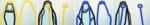 "Title: ""Dress Codes yellow-blue"" / diptych / 4 x (120 x 80) cm acrylic / canvas / stretcher"