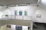 "Peter-Nowotny_2018_4 ""Meine große Schwester mit Ball"" Triptychon / Größe: 3 x (115 x 80 )cm / Acryl / Leinwand / Keilrahmen"